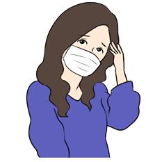 マスクの肌荒れに悩む